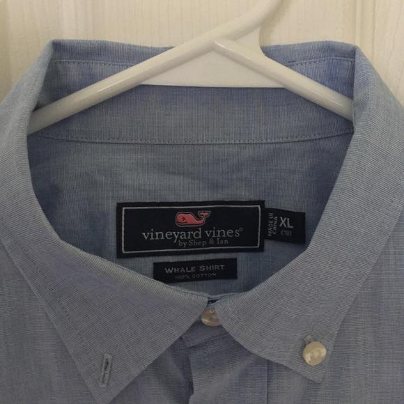 3ba36d98b Boys  Vineyard Vines Blue Oxford Whale Shirt 👔. M 5b9a5dffd6dc52c436ef986d